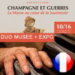 Visite DUO MUSEE + EXPO à AY @ CITE DU CHAMPAGNE - Billets & Places