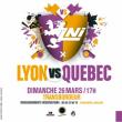Spectacle Match d'improvisation théâtrale Lyon vs Québec