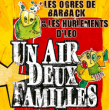 Concert UN AIR, DEUX FAMILLES