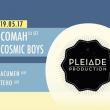 Soirée Love On The Roof x Pleiade : Comah, Cosmic Boys, Acumen, Teho