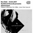 Soirée SUSHITECH Records Presents Adementum