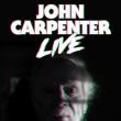 Concert JOHN CARPENTER LIVE à Paris @ Le Grand Rex - Billets & Places