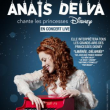 Carte ANAIS DELVA chante Les princesses DISNEY