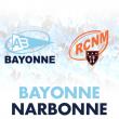 Match Aviron Bayonnais - Racing Club Narbonne Méditerranée à BAYONNE @ Stade Jean-Dauger - Billets & Places