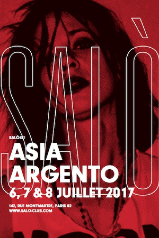 Soirée SALÒ #31 : ASIA ARGENTO à PARIS - Billets & Places