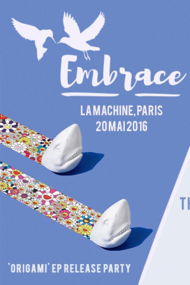 Soirée Embrace w/ The Geek x VRV - Mome - Daze - Clovis XIV à Paris @ La Machine du Moulin Rouge - Billets & Places