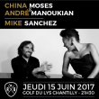 Festival CONCERT : CHINA MOSES & ANDRÉ MANOUKIAN + MIKE SANCHEZ à LAMORLAYE @ Golf du Lys Chantilly - Billets & Places