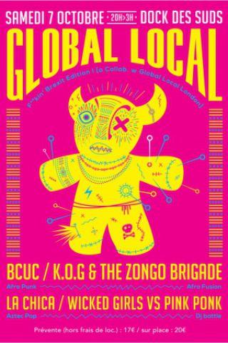 Festival Global Local #5 avec BCUC [Before Officiel Fiesta des Suds] à MARSEILLE @ Dock des Suds - Billets & Places