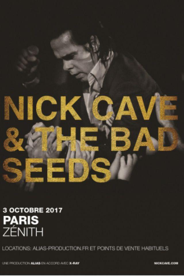 Concert NICK CAVE AND THE BAD SEEDS à Paris @ Zénith Paris La Villette - Billets & Places