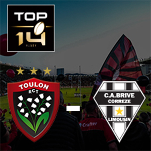 Carte RC TOULON - BRIVE