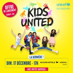 Billets KIDS UNITED
